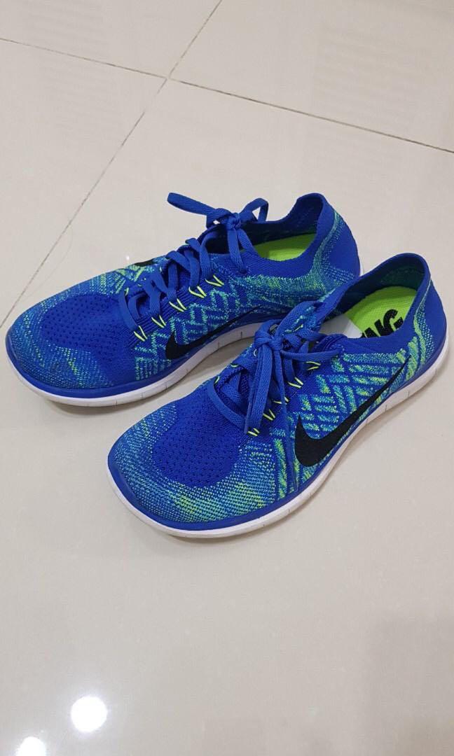 best website eb50d 4aa44 Nike Free 4.0 Flyknit Blue 運動鞋