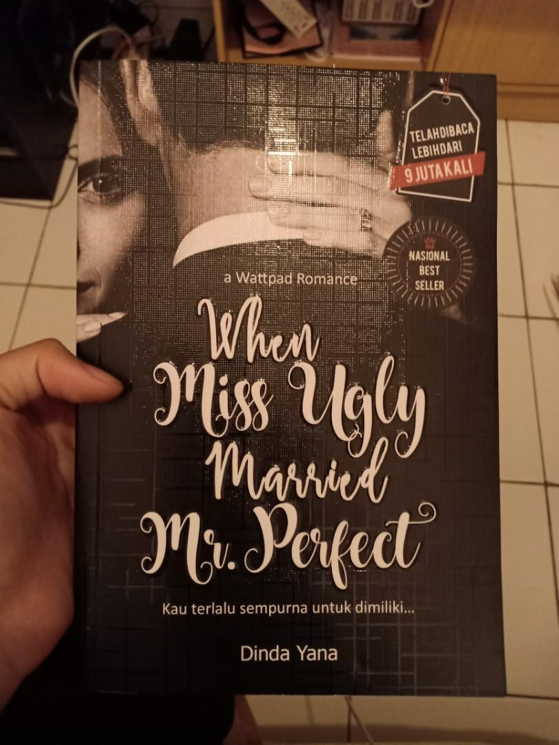 Novel When miss ugly married mr. Perfect