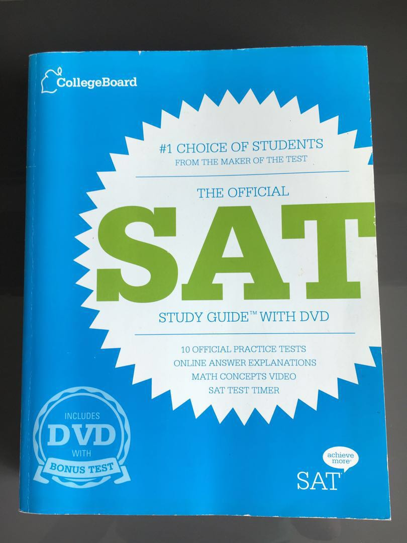 Official SAT Study Guide from CollegeBoard