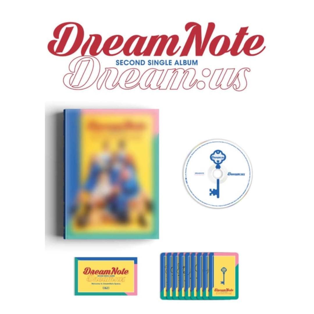 [Pre-order] DREAMNOTE 드림노트 (2ND SINGLE ALBUM 싱글앨범) - DREAM:US