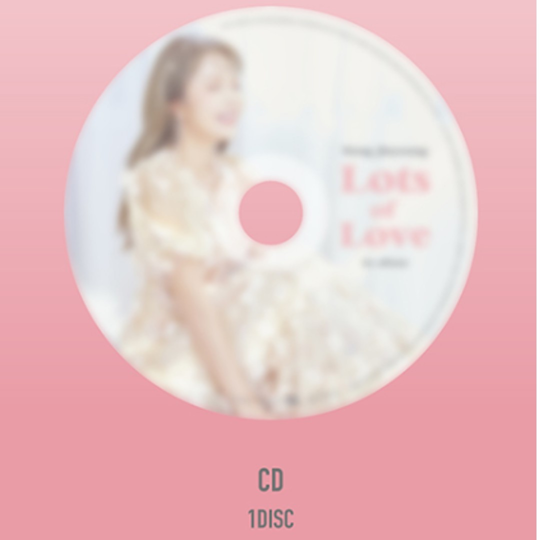 [Pre-order] HONG JIN YOUNG 홍진영 (1ST ALBUM 1집) - LOTS OF LOVE