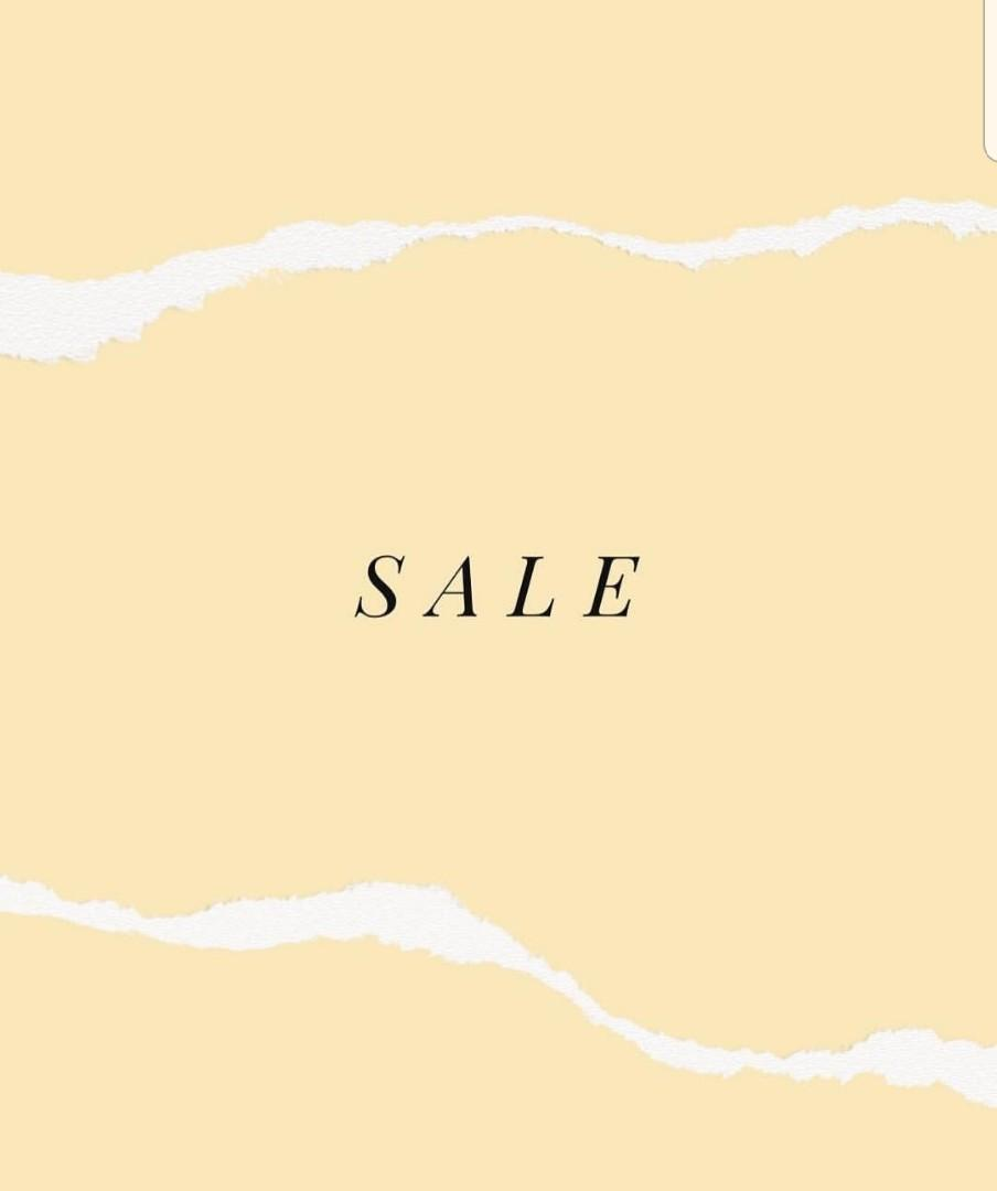 SALE on ALL items! (Clean up sale!)
