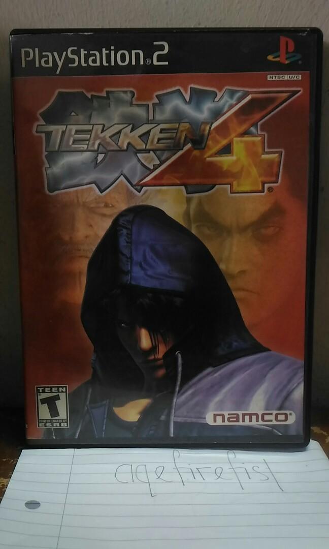 Tekken 4 Ps2 Video Gaming Video Games On Carousell