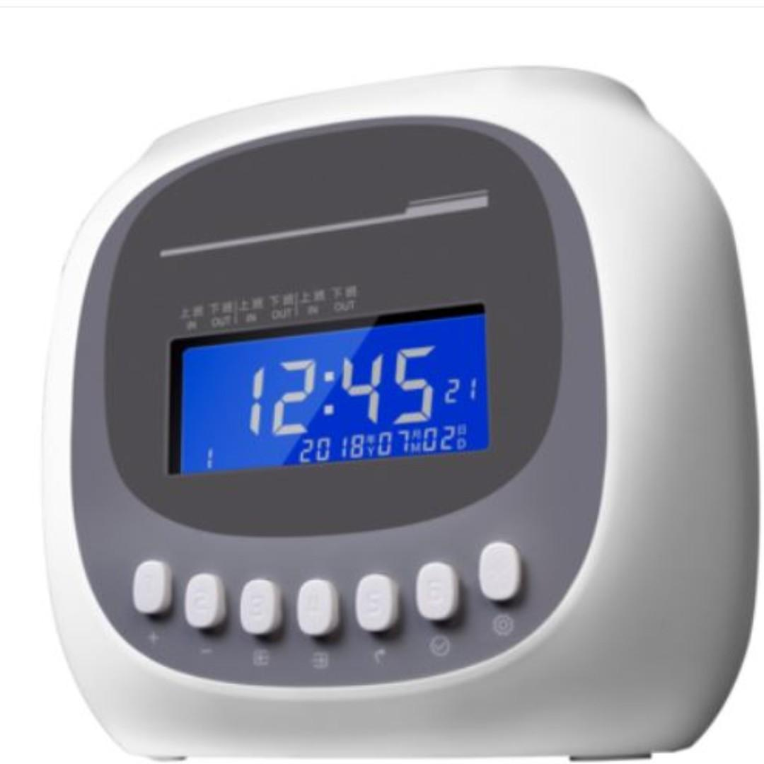 Time attendance punch card reader, Electronics, Others on