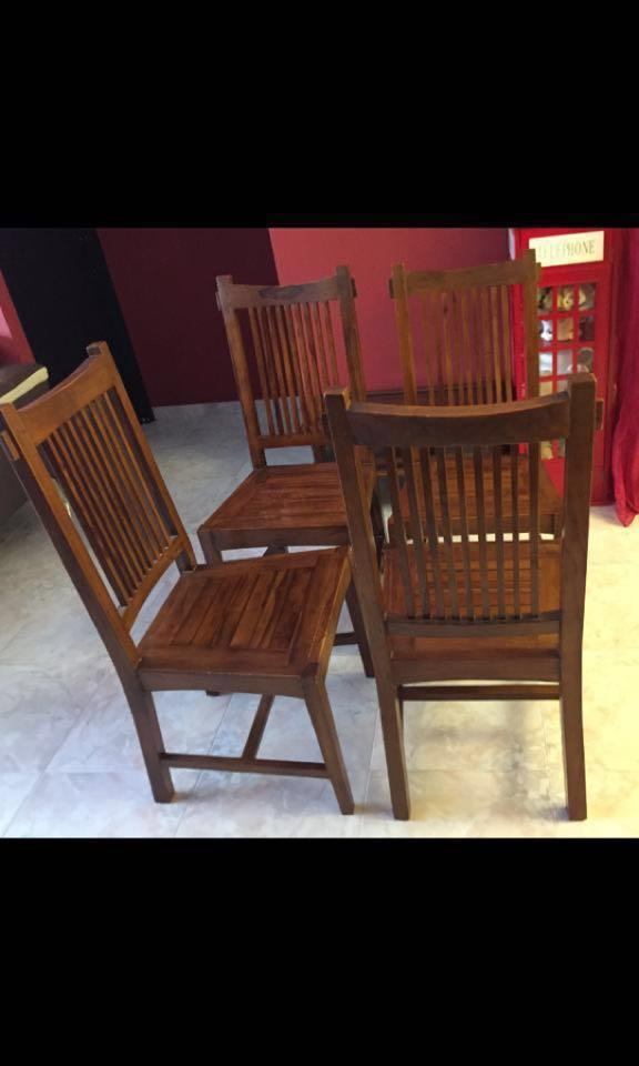 Vintage Retro Teakwood Chairs 1950s Furniture Tables Chairs On Carousell