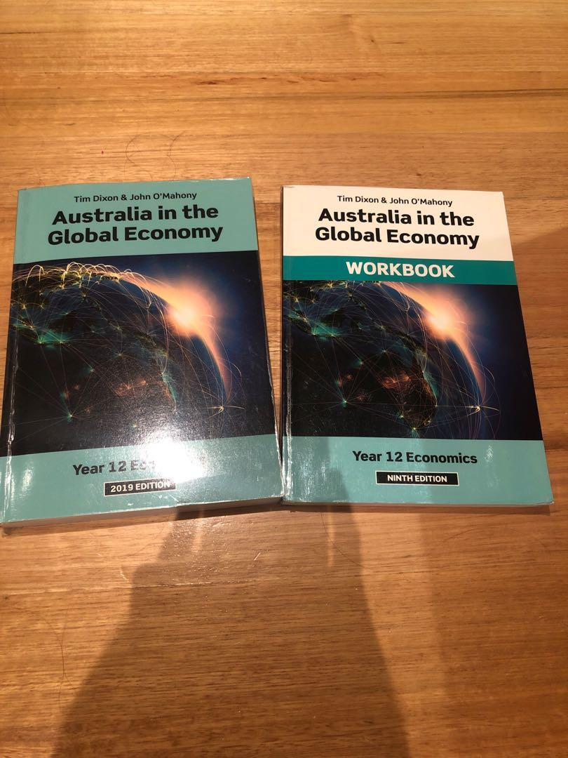 YEAR 12 2019 EDITION ECONOMICS TEXTBOOK AND WORKBOOK