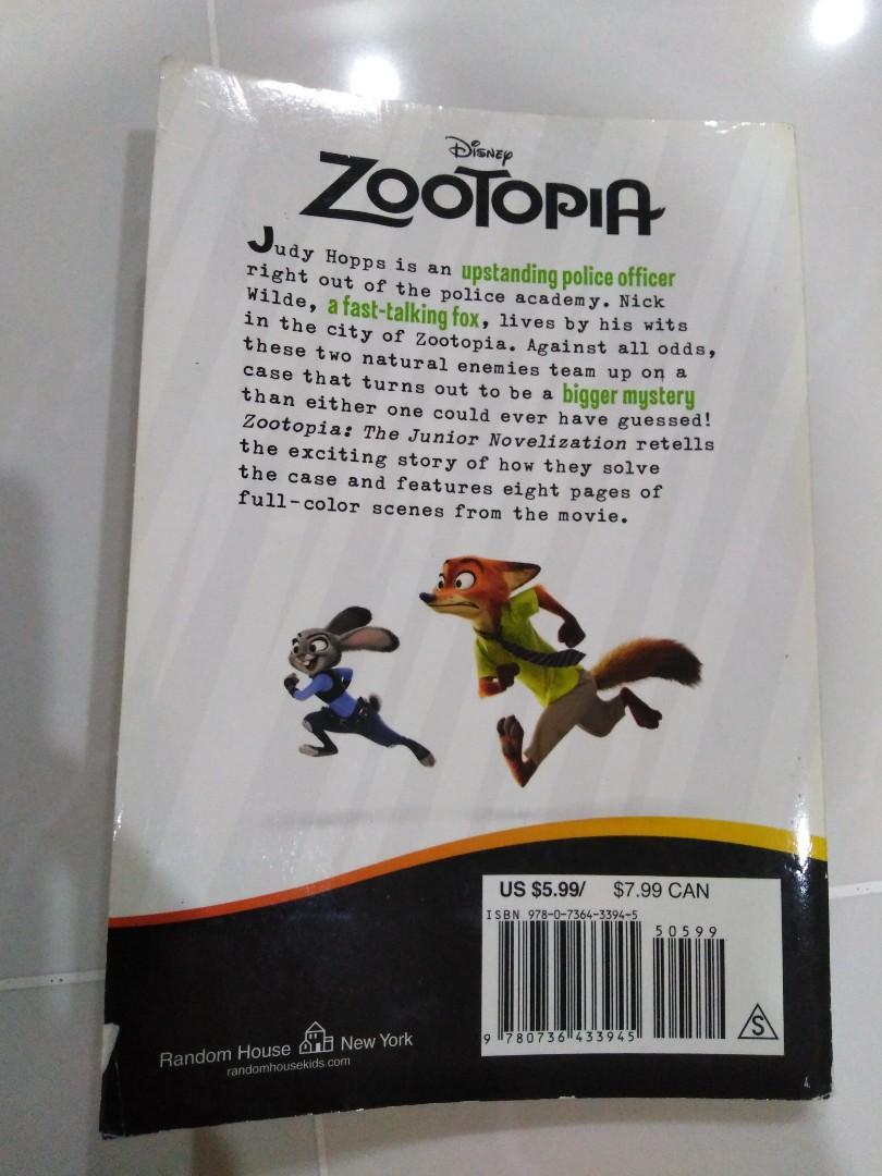 Zootopia - The Junior Novelization