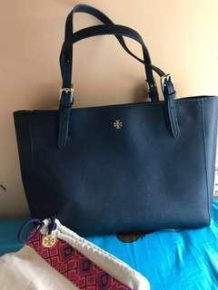 Tory Burch York Buckle Tote - Blue
