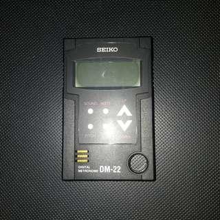 Seiko Digital Metronome DM-22