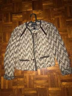 Mango Grey - brown Tweed Jacket