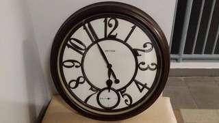 Japan Rhythm Wall Clock, Coventry Vintage European Retro