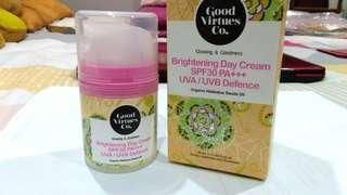 Good Virtues Co. - Glowing & Goodness Brightening Day Cream
