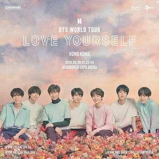 BTS 2019 香港演唱會20/3