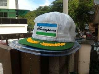 Vtg shakespeare fishing trucker mesh cap