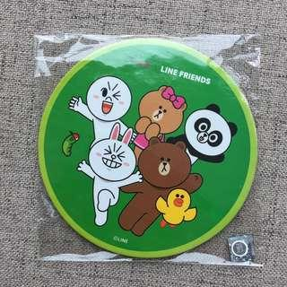 Line Friends 杯墊 cup