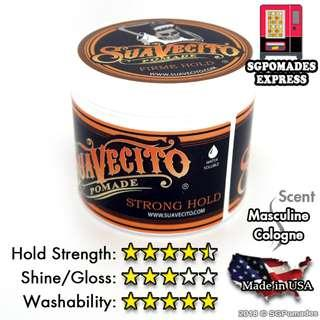 AUTHENTIC Suavecito Strong Hold a.k.a Firme Hold Pomade - SG Pomades Mens Grooming