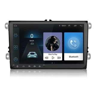"""9"""" Android 8.1 version Full Touch screen for Volkswagen Android Player with Installation, Car Radio and Audio System,"""