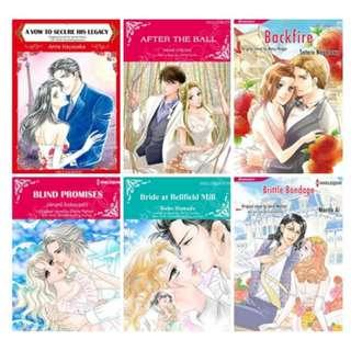 Paket Ebook Komik Harlequin English 79