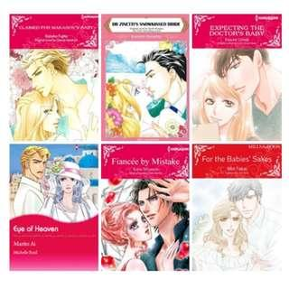 Paket Ebook Komik Harlequin English 80