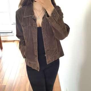 Brown Corduroy Jacket