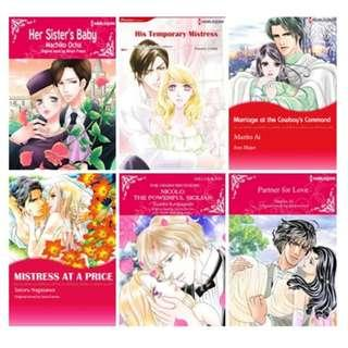 Paket Ebook Komik Harlequin English 81