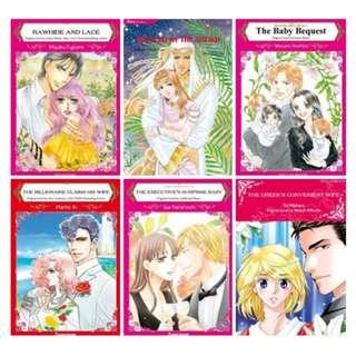 Paket Ebook Komik Harlequin English 82