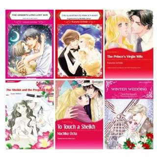 Paket Ebook Komik Harlequin English 83