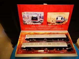 全新🎊20週年🎊列車模型連紀念套票2張。極具收藏