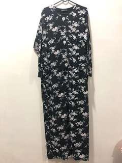 Poplook Black Jubah Dress (size: M)