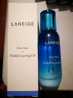 Laneige Water Bank Double Layering Oil 50ml 水庫凝肌補濕精華油