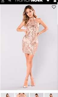 Fashion Nova Katlyn Sequin Dress BNWT