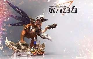 🚚 [PO] Digimon Resin Statue Yagami Taichi & MetalGreymon