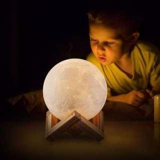 3D Lunar Lamp (18 cm)