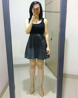 KBS - 034 DIVIDED HnM Mini Dress Denim Basic