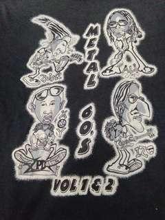 Vintage Band XPDC Metal 60an