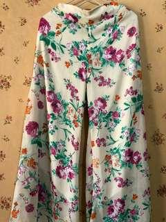Celana Kulot Bunga
