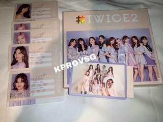 [INSTOCK] UNSEALED TWICE 2 JAPAN ALBUM VERSION A