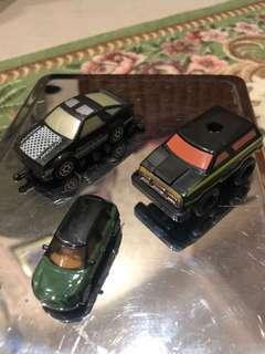 Mix car lot