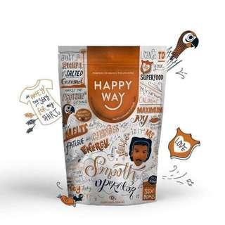 Happy Way Protein - Salted Caramel 500g