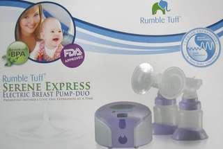Double Breast Pump Rumble Tuff Serene Express #FEBP55