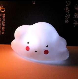 🚚 [In Stock - 2 for $22] Small night nursery LED table lamp light - Little cloud