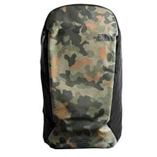 THE NORTH FACE KABAN  | BACKPACK | HAVERSACK NEW TAUPE GREEN MACROFLECK PRINT/TNF BLACK