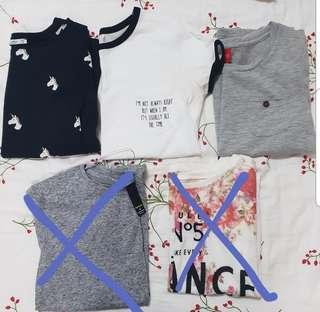 Basic/graphic tees clearance!!