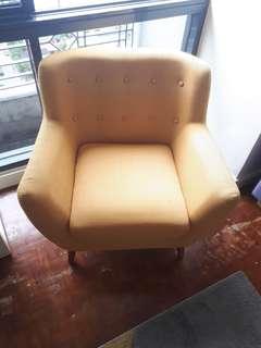 Very special, comfy single sofas