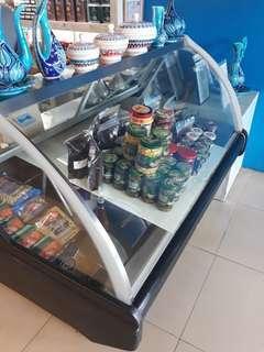 Display refrigerators