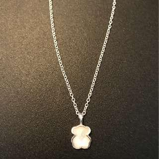 Tous Mother of Pearl Necklace .925 Silver