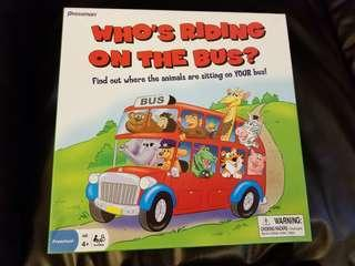 Who's Riding On The Bus Board Game 桌遊 桌游 兒童遊戲