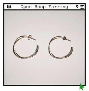 *Perfect Condition* Open Hoop Earring in Rose Gold
