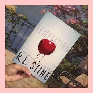 Book: Temptation by R.L Stine