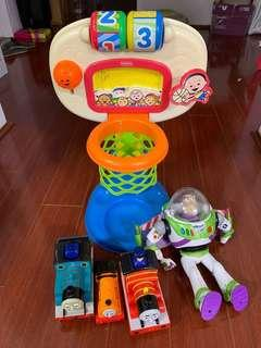 Toys fisher price, Buzz lightyear, Thomas